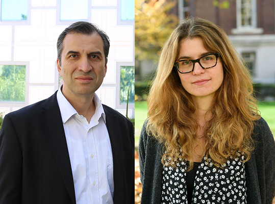 Nenadic (left) and Markopoulou, who will assume their new duties on July 1, will oversee teaching, research and outreach efforts in their respective departments.