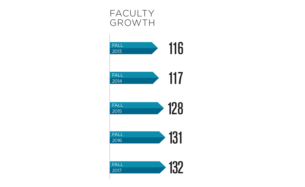 2016-17 Faculty Growth