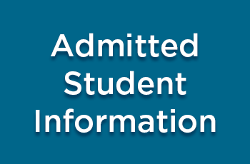 Admitted Student Information