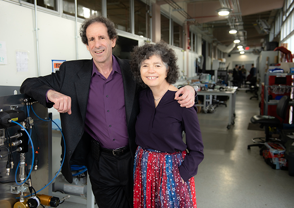 Longtime avionics engineer Bob Altman '79 and wife, Michelle, have committed to a $250,000 estate gift to support experiential learning opportunities for UCI students for years to come. Steve Zylius/UCI