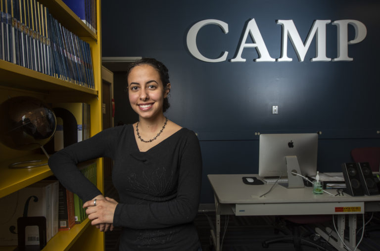 Third-year biological sciences major Alyssa Carrillo participated in CAMP's 10-week Summer Research Scholars program, which is focused on preparing students for undergraduate research. Steve Zylius / UCI