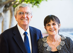 Endowed Presidential Chair Named for Former Dean, Dean's Wife