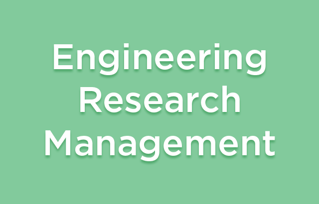 Engineering Research Management