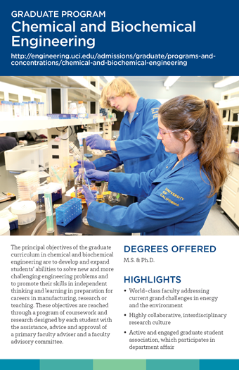 Graduate Studies Brochure - CHEM/BIOCHEM