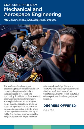 Graduate Studies Brochure - MAE