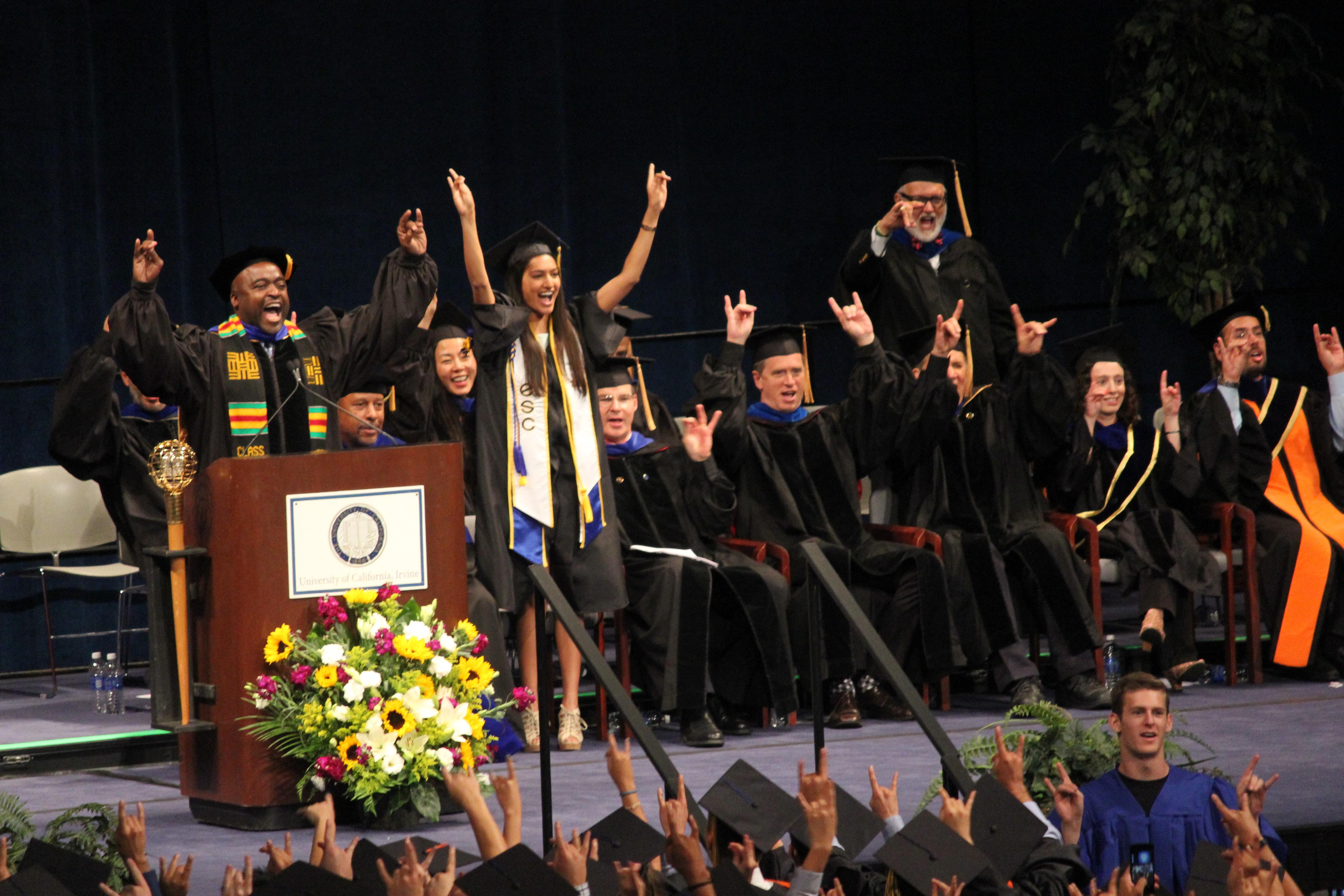 Ucis Largest Class Of Engineers Graduates The Henry Samueli