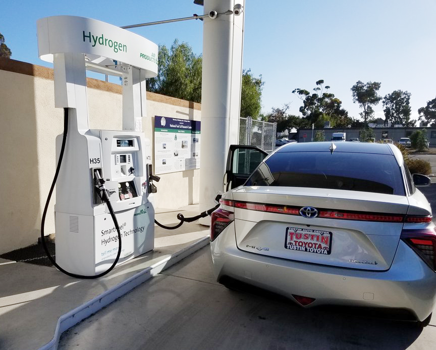 The National Fuel Cell Research Center at UCI announces record year for hydrogen dispensed at the UC Irvine Hydrogen Fueling Station