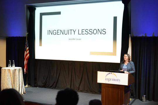 Ingenuity Lessons