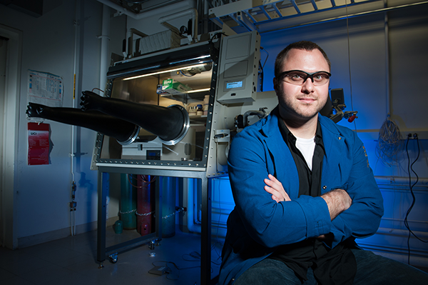 Assistant Professor Sets an Incredible Pace of Discovery