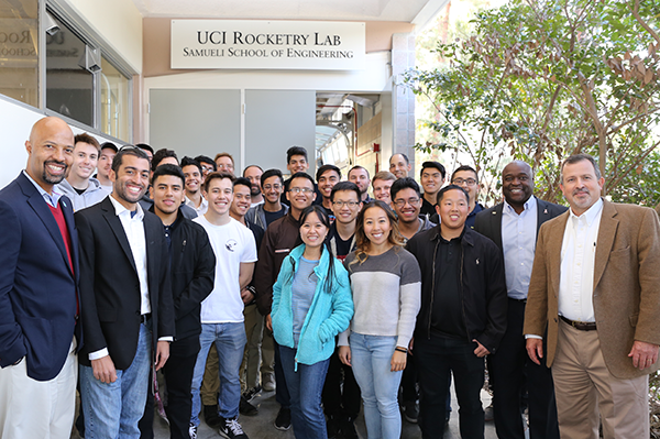 The much anticipated UCI Rocketry Lab opens its doors in Februray 2018.