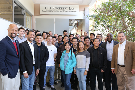 UCI Rocketry Lab Opens