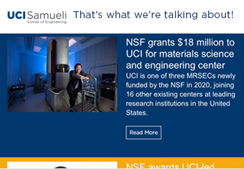 Samueli School of Engineering Newsletter - August 2020