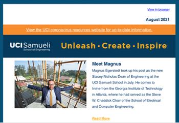 Samueli School of Engineering Newsletter - August 2021
