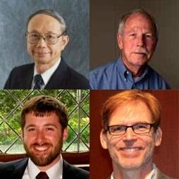 Clockwise from top left: Jann Yang, Robert Liebeck, Bruce Tromberg, Stephen Timko