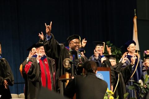 Dean Washington 2016 Commencement
