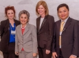 Ashley Payne, Sen. Boxer, Gudrun Magnusdottir and Phu Dinh Nguyen