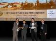 Chen Tsai accepts IEEE-UFFC Achievement Award