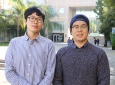 Jonggyu Lee (left) and Youngjoon Suh won best paper awards recently at ASME conferences.