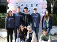 Samueli School engineering students join the festivities at the E-Week Kick-off Fair.