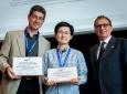 From left: Rainer Doemer, Weiwei Chen and Giovanni De Micheli