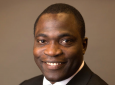 """Adeyemi Adeleye will use the Hellman Fellowship funding to support his research """"Remediation of Metal-Contaminated Agricultural Soils Using Nanotechnology and Machine Learning."""""""