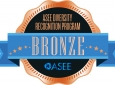 ASEE Diversity Recognition Program Bronze