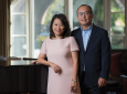 """Carol Choi '85 and Eugene Choi '86, MBA '01 – recipients of UCI's 2020 Extraordinarius award – """"have generously given their time, talent and resources to invest in the next generation,"""" says Vice Chancellor Brian T. Hervey. Steve Zylius / UCI"""