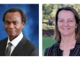 Oladele Ogunseitan, UC Presidential Chair and UCI professor of population health and disease prevention, and Julie Schoenung, UCI chair and professor of materials science and engineering, are co-principal investigators on a study funded by a $200,000 research grant from Microsoft Corp. Program in Public Health and The Henry Samueli School of Engineering / UCI