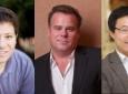 L-R: Eliott Botvinick, Jonathan Lakey and Weian Zhao