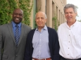 From left: Gregory Washington, Said Elghobashi, Derek Dunn-Rankin