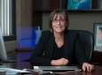 """Efi Foufoula-Georgiou is recognized by in international scientific organization for her """"outstanding intellectual leadership in the quantitative analysis of Earth-surface processes and the forms that they produce."""" Steve Zylius / UCI"""