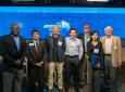From left to right: Gregory Washington, Enrique Lavernia, Christopher C.W. Hughes, Elliot Botvinick, Richard Sudek, Mo Li and Don Beall.