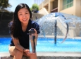 """We need energy efficient water supplies, so I hope we can revolutionize the water purification process to benefit both humans and the environment,"" says UCI's Sunny Jiang. Steve Zylius / UCI"