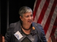 """Mary Nichols, chair of the California Air Resources Board, talks about """"The California Opportunity."""""""
