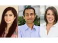 "Three engineering doctoral students -- Medea Neek, Seyed ""Amir"" Saeidi and Rachel Smith -- were awarded a Graduate Dean's Dissertation Fellowship for 2018-19."
