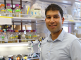A biomedical engineering postdoctoral scholar, Rishi Jajoo works on re-engineering mitochondrial genetic code.