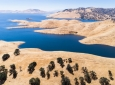 The water level of the San Luis Reservoir in California's Merced County fluctuates in wet and dry years. UCI research gives resource managers a new tool for predicting winter rainfall months in advance. Amir AghaKouchak / UCI