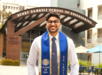 After graduating with a bachelor's degree in mechanical engineering, Sishir Jayanthi will begin his career at Millennium Space Systems.
