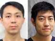 A team led by graduate students Weixi Wang (left) and Yanchen Wu was among 35 finalists in the 2021 Solar District Cup competition.