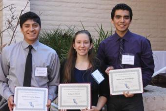 CEE Affiliates Scholarship winners