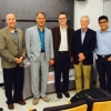 Payam Heydari with faculty at Princeton University