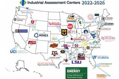 On July 26, 2021, the Office of Energy Efficiency and Renewable Energy announced $60 million for 32 higher education institutions located in 28 states across the country to set up and operate regional Industrial Assessment Centers (IAC).