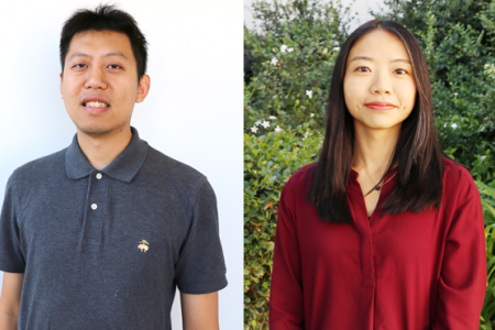 Zhou Li and Yanning Shen, assistant professors in electrical engineering and computer science, are working on an artificial intelligence method to detect fraudulent emails.