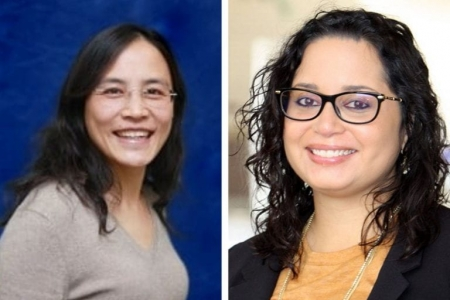 Jun Wu (left) and Alana M.W. LeBrón have spent much of their careers working directly with community partners. Program in Public Health / UCI
