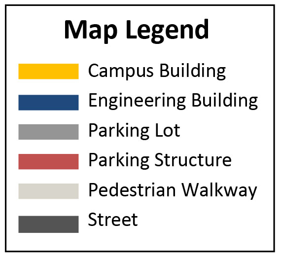 Walking Map Legend